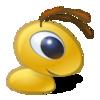 Стилизованный муравей на прозрачном фоне ава аватар смайлик скачать
